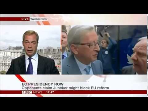 Nigel Farage On David Camerons Defeat Against Juncker