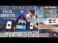 Bahas Next Update Rules Of Survival - NEW ! Big Map, kendaraan Baru, tempat Baru Lebih Modern