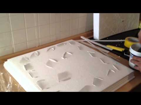 decken und w nde mit styroporplatten d mmen youtube. Black Bedroom Furniture Sets. Home Design Ideas