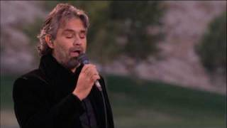 Watch Andrea Bocelli Amapola video