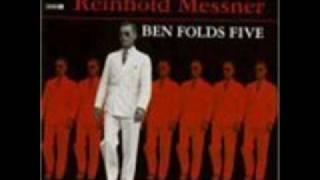 Watch Ben Folds Narcolepsy video