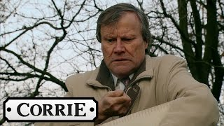 Coronation Street - Roy Scatters Hayley's Ashes