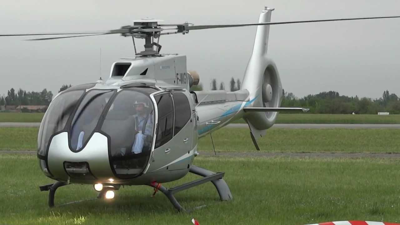 Helicoptero ec 130 Air Expo 2012 ec 130 t2