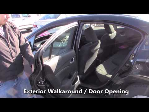 Lyft Walkaround Video 1 - 2015 Honda Civic - Sport Honda - Silver Spring Maryland, 20908