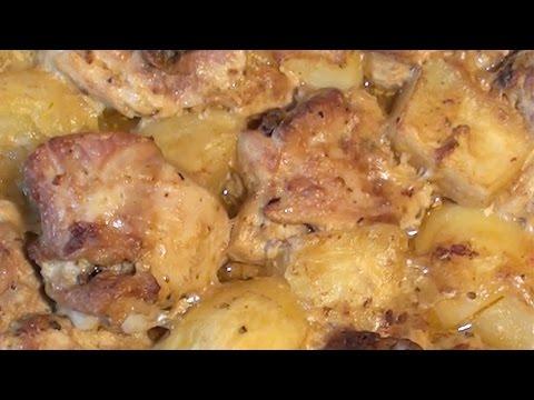 Куриные бедра с картошкой в духовке рецепт с фото пошагово