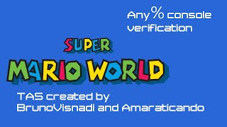 TASBot plays Super Mario World any% (or 11 exit no ACE)