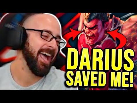 DARIUS SAVED ME FROM ELO HELL!!! - SRO Road to Challenger