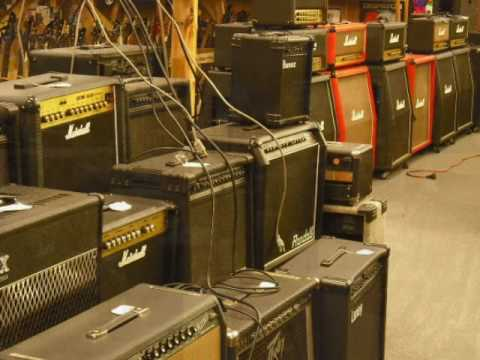 a walk through tour of Maryland's famous Atomic Music Store! Stop in an have a look around. We are located at 10111A Bacon Dr., Beltsville, MD 20705.