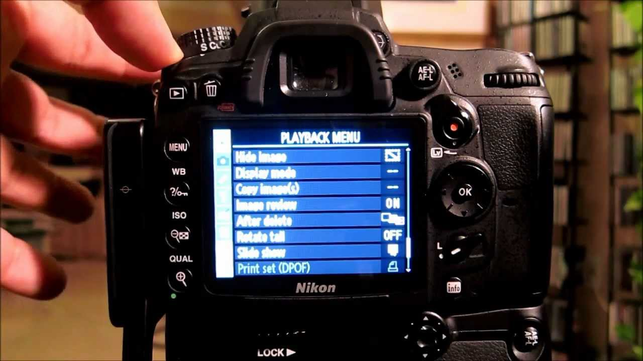 Nikon D7000 Tutorial  All Settings  Menus  Functions By