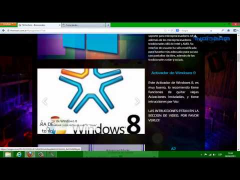 Tutorial: Activar Windows 8 Pro. Enterprise. WMC [x32 o 64 Bits] [PARA-SIEMPRE] [HD]