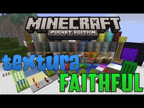 Faithful   Review Textura Minecraft PE   0.7.6
