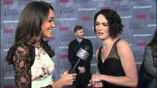 "CERSEI LANNISTER - ""Game of Thrones"" Star Lena Headey Interview"