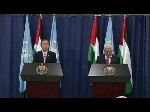 UN chief Ban Ki-moon tells Israelis and Palestinians to be patient for peace