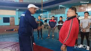 4rd Day of 5 Days Sambo Training Camp held at Imphal from 20 to 24 January 2019