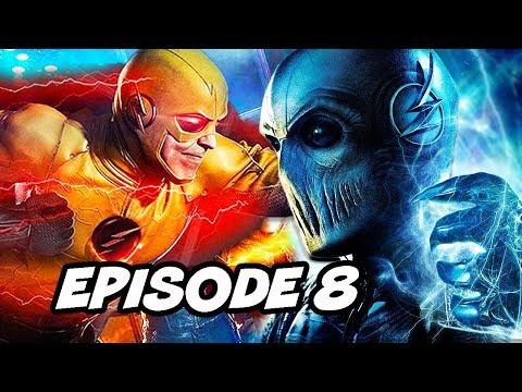 The Flash 5x08 100th Episode - Reverse Flash, Zoom Savitar Easter Eggs thumbnail