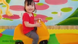 trò chơi ở khu vui chơi giải trí cho bé *susu toyskid tv*