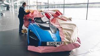 HYPERCAR CHRISTMAS PRESENT! My McLaren Senna Collection Day