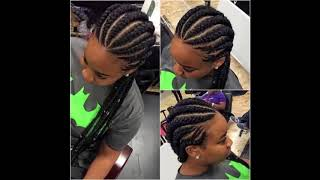 Latest Hairstyles for Black Women 2018: Captivating African Braids Hairstyles.