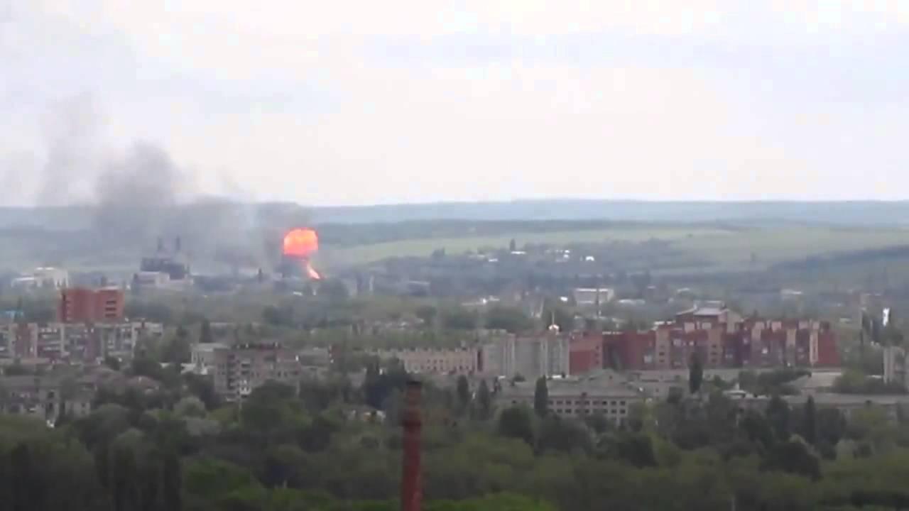 История боя за Семёновку в видео