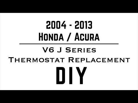 V6 Honda Thermostat Replacement - Honda / Acura - V6 J Series