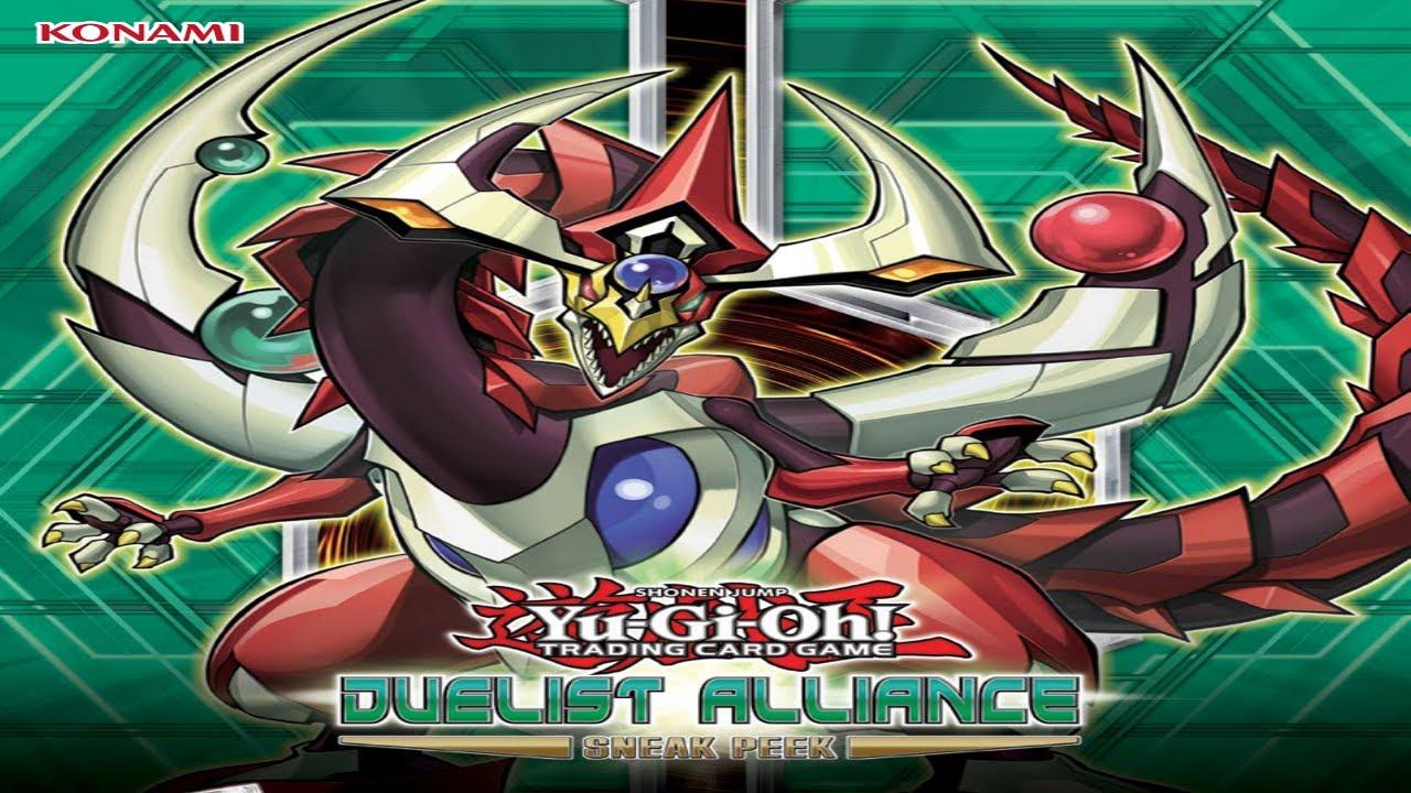 Yugioh Duelist Alliance Yugioh Duelist Alliance 1st