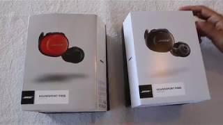 Bose Soundsport Free Wireless Headphones Comparison Fake vs Real