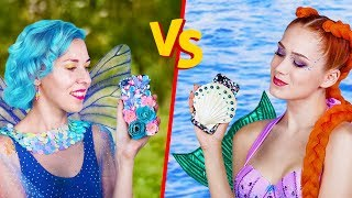 Download Song 10 DIY Mermaid vs Fairy Lifestyle Ideas Free StafaMp3