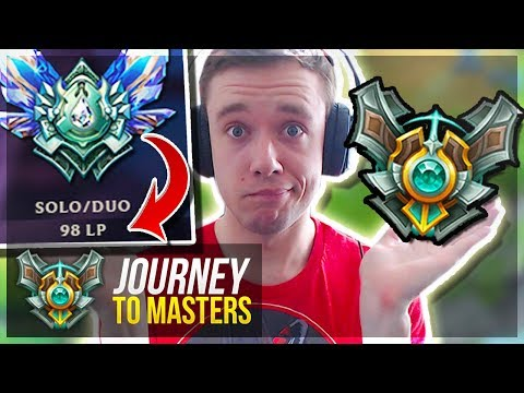 IT'S FINALLY HAPPENING!! MASTERS GETTING CLOSE! - Journey To Masters | League of Legends