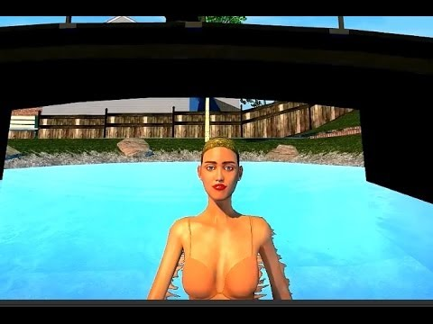 MILEY CYRUS – TWERKING VIDEOGAME  2014 Realistic Graphics TWERK Open World game