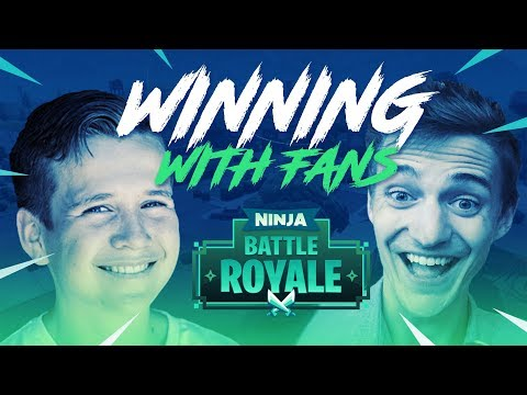 Winning With Fans!! - Fortnite Battle Royale Gameplay - Ninja