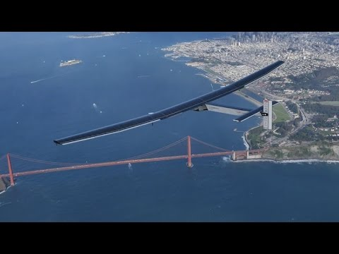 Solar-powered plane completes Pacific leg of global journey (Crave Extra)