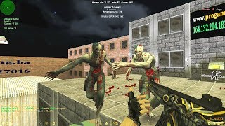 Counter-Strike: Zombie Escape Mod - ze_Classic_pg on ProGaming