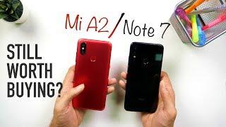 Redmi Note 7 Vs Mi A2 Ultimate Comparison: Camera   Performance   Speed Test [Hindi]