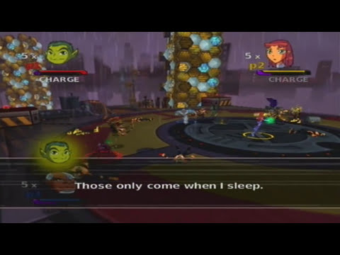 Teen Titans Walkthrough (Gamecube) - Mission 1:  Titan Tower