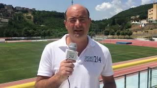Calcio Avellino, squadra in partenza per Frosinone