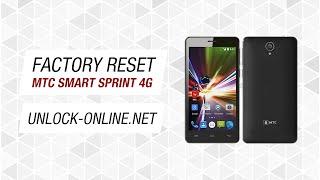 Сброс до заводских настроек МТС SMART Sprint 4G (hard reset, factory reset)
