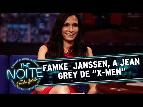 "The Noite (20/08/14) - Entrevista com Famke Janssen, a Jean Grey, de ""X-Men"""