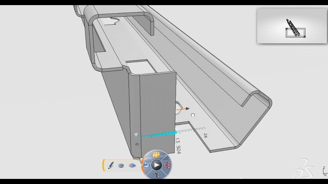 Catia Sheet Metal Conceptual Design Catia Bend Part Design