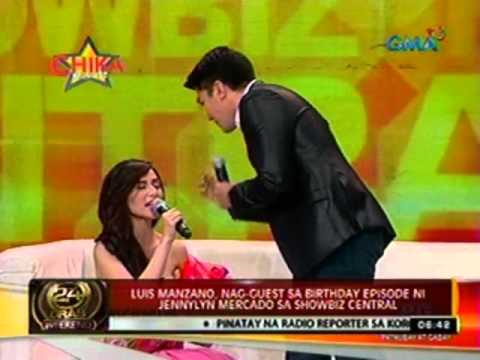 24ORAS:  Luis Manzano, nag-guest sa   birthday episode ni Jennylyn   Mercado sa Showbiz Central Music Videos