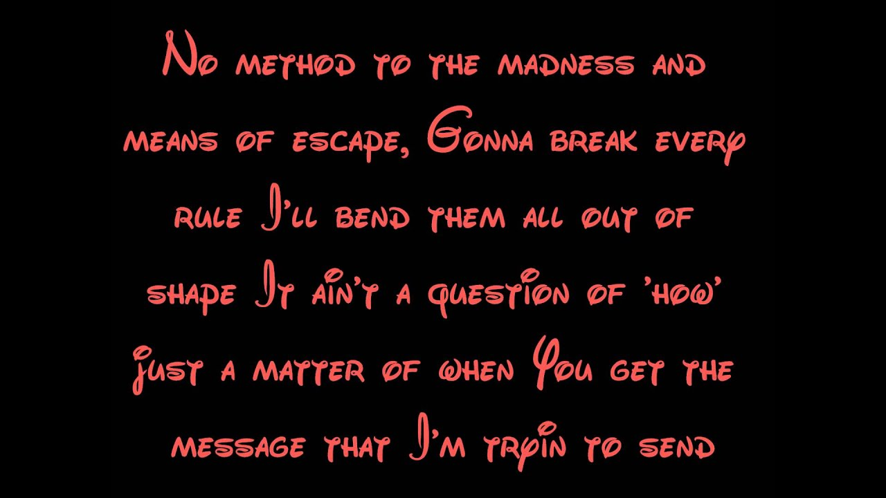 goofy movie soundtrack lyrics: