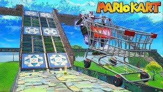 *NEW* MARIO KART Custom Gamemode In Fortnite Battle Royale!