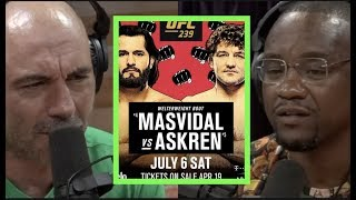 Joe Rogan & Yves Edwardson Discuss Ben Askren vs. Jorge Masvidal