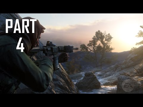 Medal of Honor Walkthrough Gameplay Part 4 Campaign Mission 1 [ Breaking Bagram ]