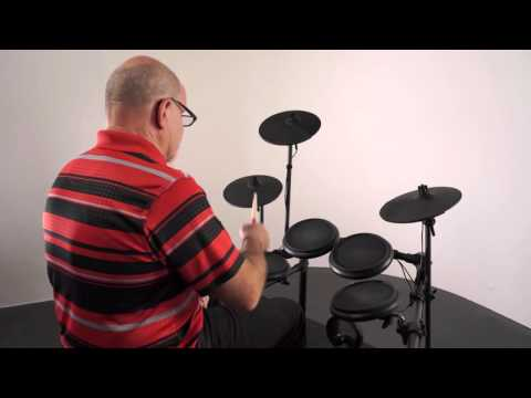 Alesis Nitro Kit - Real drum feel and the dynamics of playing on the Nitro Kit