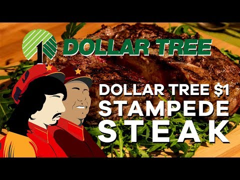 Food Fridays - 1$ Steak from Dollar Tree