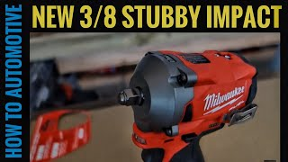 Milwaukee Tools New 3/8 Stubby Impact Wrench - How to Best Use in an Automotive Repair Shop