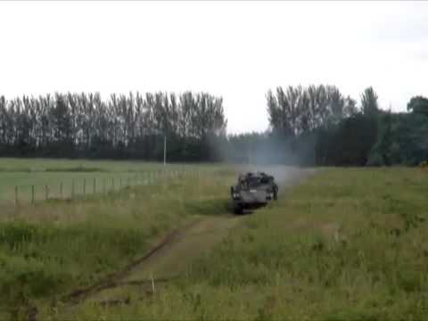 Tank Driving Scotland - Full Speed