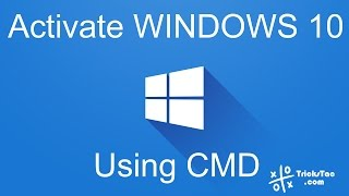 How to Activate Windows 10 using Command Prompt (CMD)