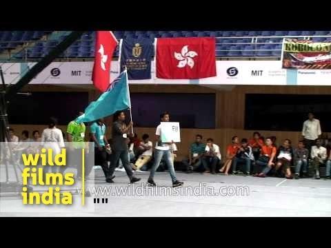 Participants of Asia-Pacific Robot Contest 2014, Pune - India