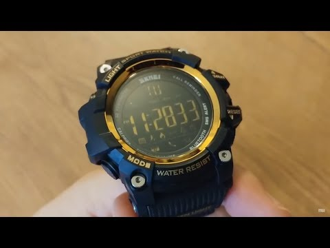 SKMEI 1227 smartwatch smart watch unboxing / review (Marvelous Watches)